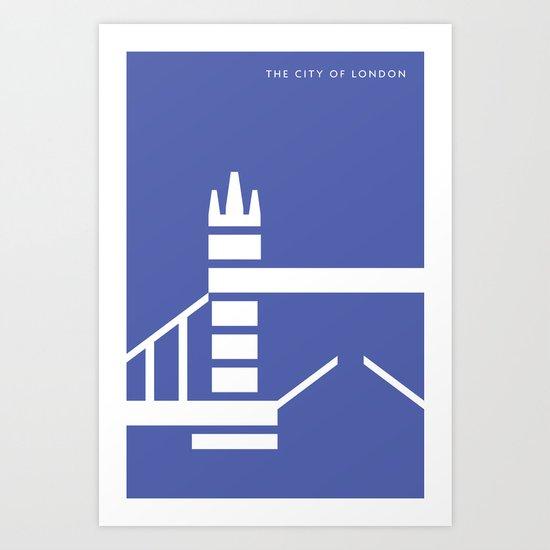 Iconic London: Tower Bridge Art Print