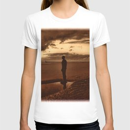 Another Place on Crosby Beach T-shirt