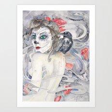 Whispered Dead Art Print