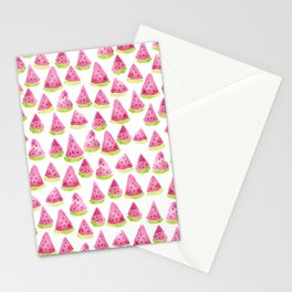 Watermelons - white background Stationery Cards