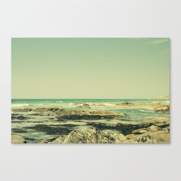 Tilt and Shift Cornish Coast Canvas Print