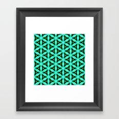 pttrn15 Framed Art Print