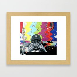 Cartoons And Cereal Framed Art Print