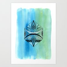 Geometric Prism 2 Art Print