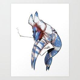 Togruta Twi'lek Hybrid Art Print