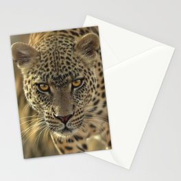 Leopard - On the Prowl Stationery Cards