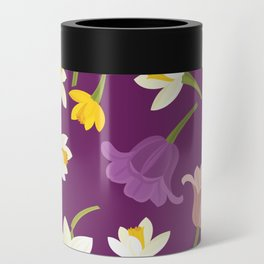 Tulips & Daffodils Can Cooler