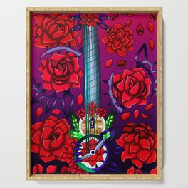 Fusion Keyblade Guitar #185 - No Name & Divine Rose Serving Tray