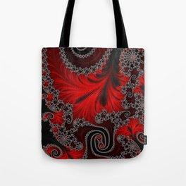 Eruption - Fractal Art Tote Bag
