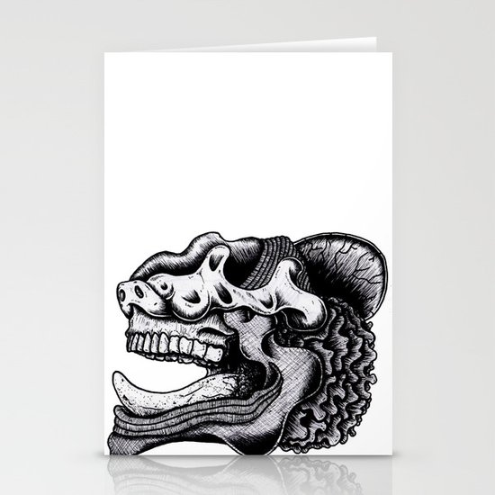 Illustration of a Ghost Stationery Cards