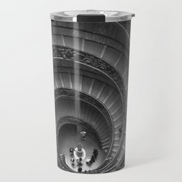 The Spiralling Staircase. Travel Mug