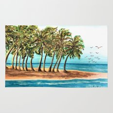 Private Island Painting Rug