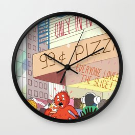 Only in NYC Wall Clock