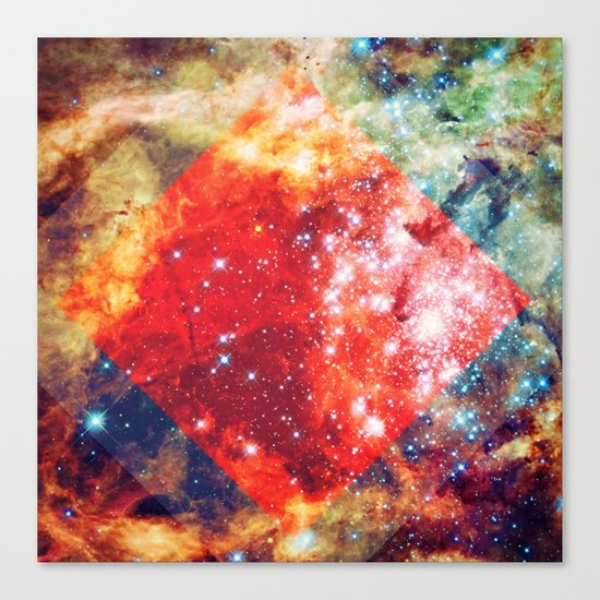 Stars on Fire Canvas Print