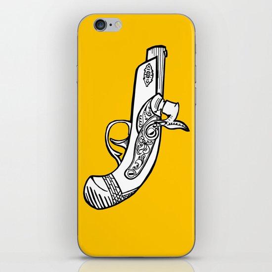 One shot Derringer, one shot gettin ya iPhone Skin