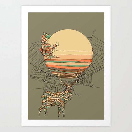 The Haunting Idle Art Print
