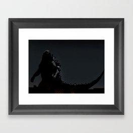 Godzilla (2014) Framed Art Print