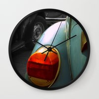 volkswagen Wall Clocks featuring Volkswagen by habish