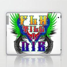 Fly Till I Die Laptop & iPad Skin