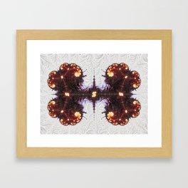 Organized Kaos Framed Art Print