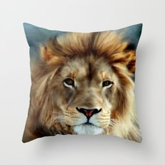 LION - Aslan Throw Pillow