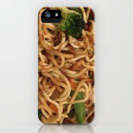Chicken Lo Mein Dinner iPhone Case