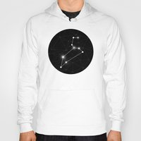 constellation Hoodies featuring Constellation by Tom's Whale