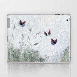 A Spell for Creation - butterflies amongst grass Laptop & iPad Skin