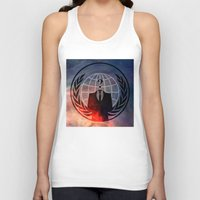 anonymous Tank Tops featuring Anonymous by Sney1