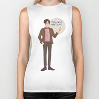 doctor who Biker Tanks featuring Doctor Who by Pulvis