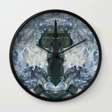 crystaux Wall Clock