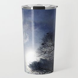 Between Night And Day Travel Mug