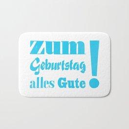 Happy Birthday – Zum Geburtstag alles Gute Bath Mat