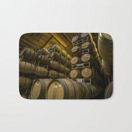 Winery Barrels Bath Mat