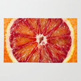 Blood Grapefruit Rug