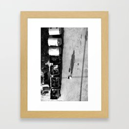 Transition into another dimension XVI Framed Art Print