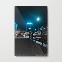Building light Metal Print