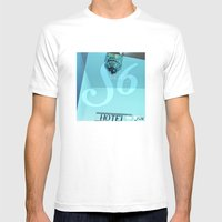 Society 6 MEDIUM White Mens Fitted Tee