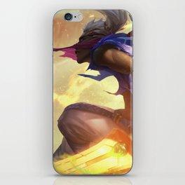 Sandstorm Ekko League Of Legends iPhone Skin