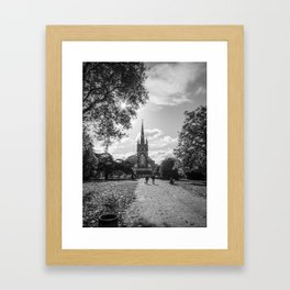 Kensington Park  Framed Art Print
