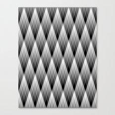 Silvery Canvas Print