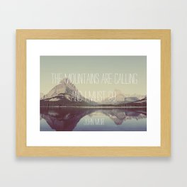 So, Go Framed Art Print