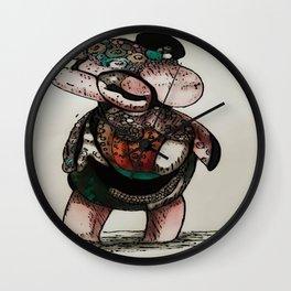 piggy 2 Wall Clock