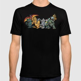 Where the Wild Kaiju Are T-shirt