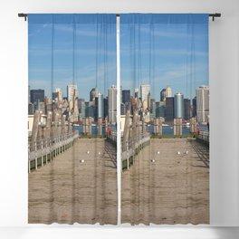 New York City Skyline Blackout Curtain