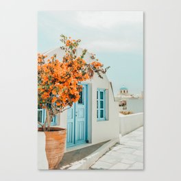 Greece Airbnb #photography #greece #travel Canvas Print