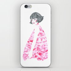 poppy girl iPhone Skin