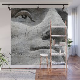 Rushmore Face of Washington Wall Mural