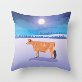 Jersey // Winter Throw Pillow