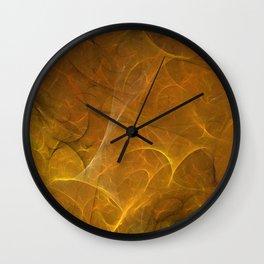 Time Fibre Wall Clock